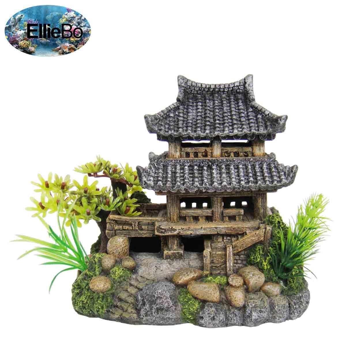 Fish Tank Ornament Oriental
