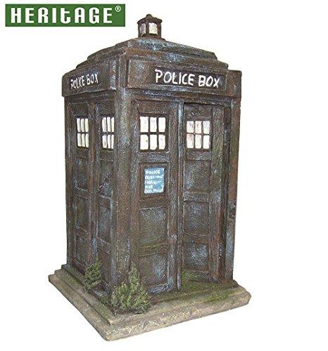 Fish Tank Ornament Dr Who Police Box