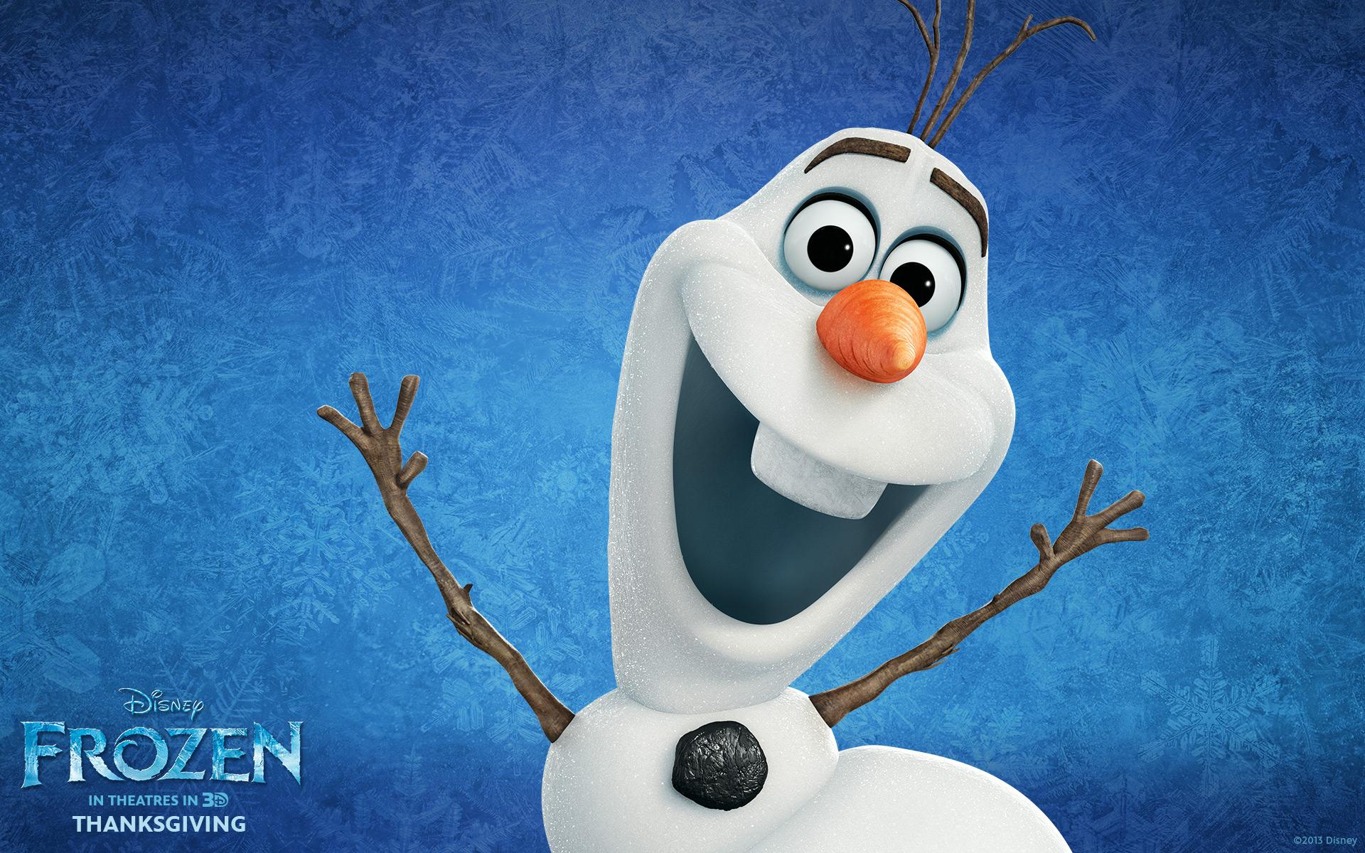 Fish Tank Ornament Olaf Frozen