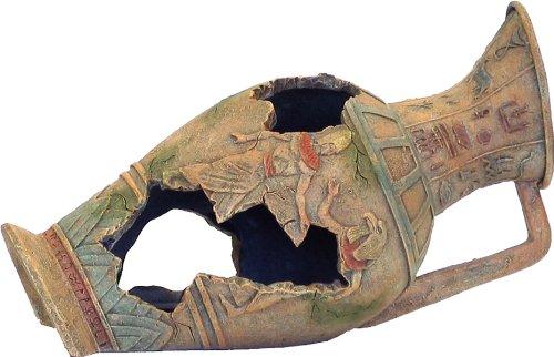 Fish Tank Ornament Egyptian Urn