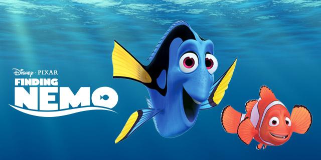 Fish Tank Ornament Nemo and Gil