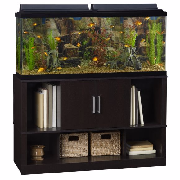 Fish tanks aquariums stands kits reviews from for 55 gallon fish tank stand