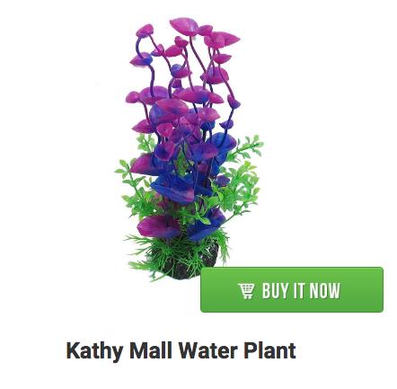 fish tank plant