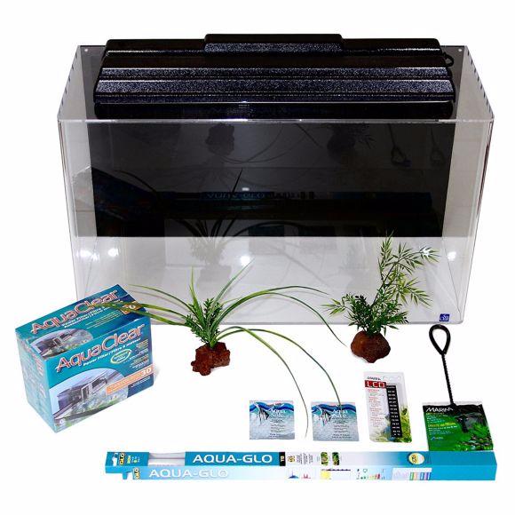 Seaclear acrylic aquarium manual for 50 gallon fish tank starter kit