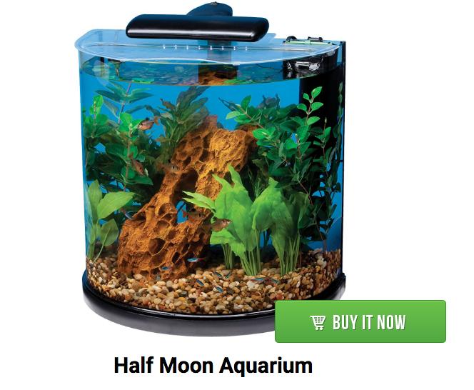 half moon aquarium