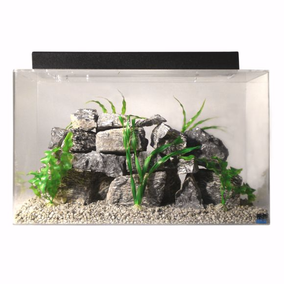 25 30 35 gallon fish tanks aquariums kits stands for Sea clear fish tank